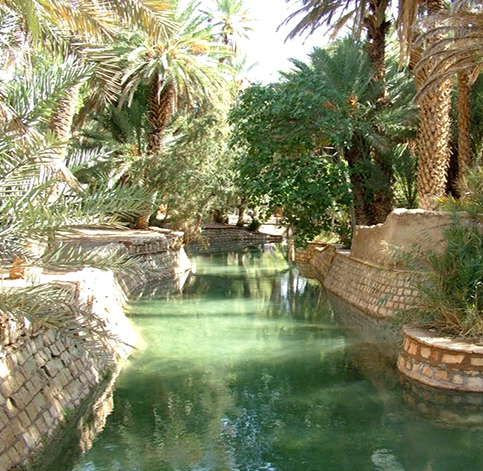 Rent a car in Morocco to go to the Blue Spring of Meski