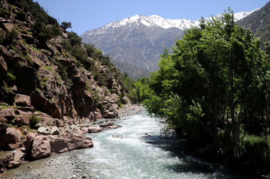 Rent a car to go to tje Ourika Valley