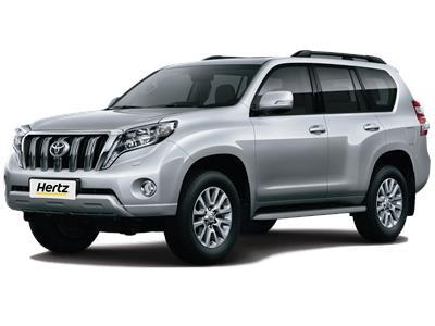 rent a car toyota prado 4x4 boite automatique in morocco. Black Bedroom Furniture Sets. Home Design Ideas